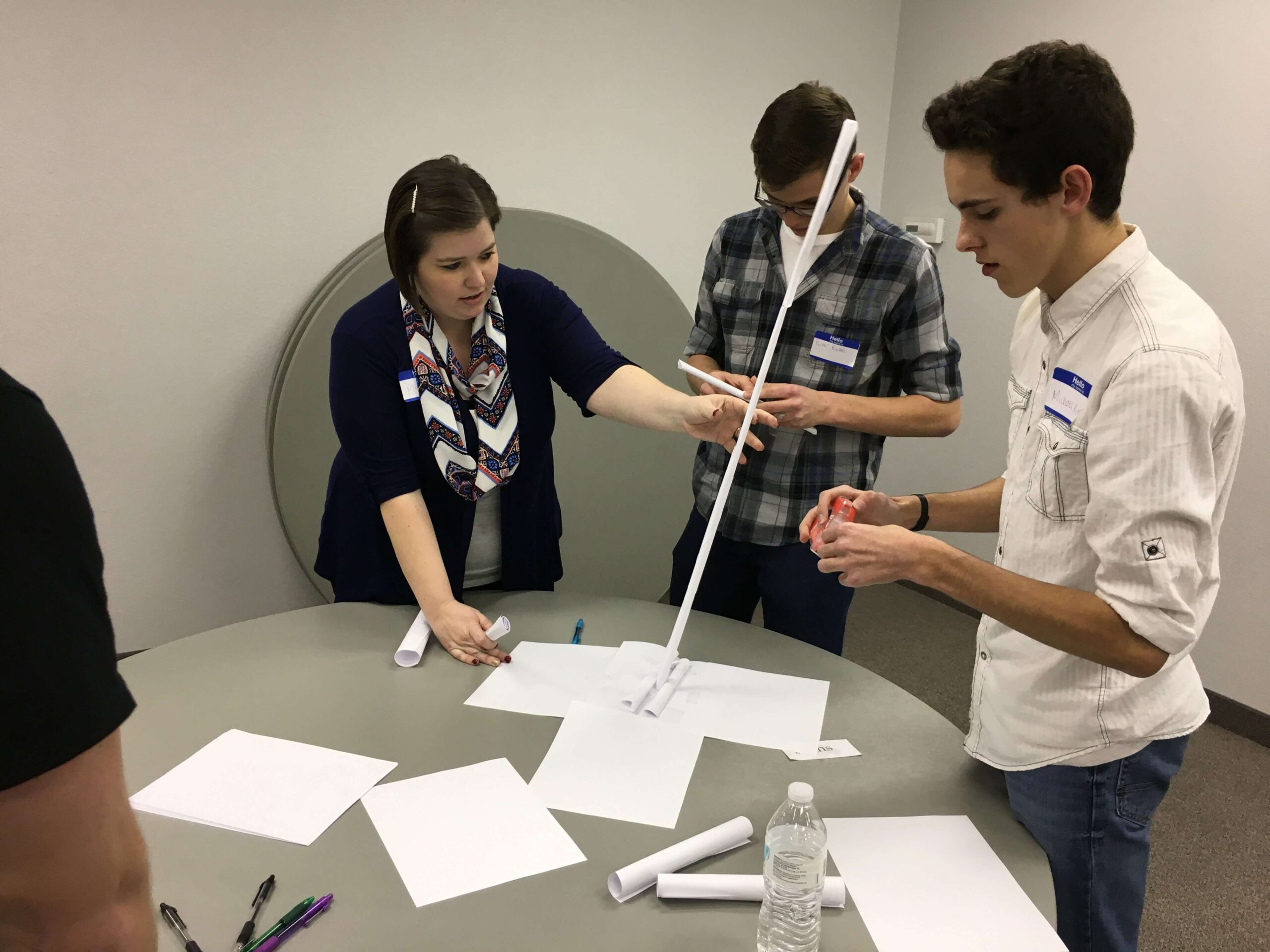 Event Center Team Building Activity