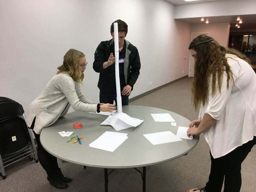 Event Center Team Building in Nampa, Idaho