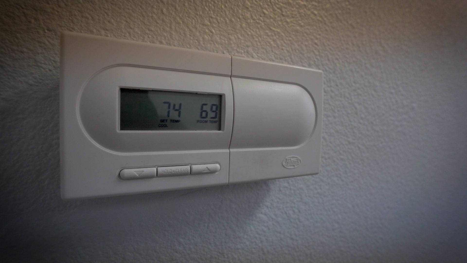Event Center Thermostat