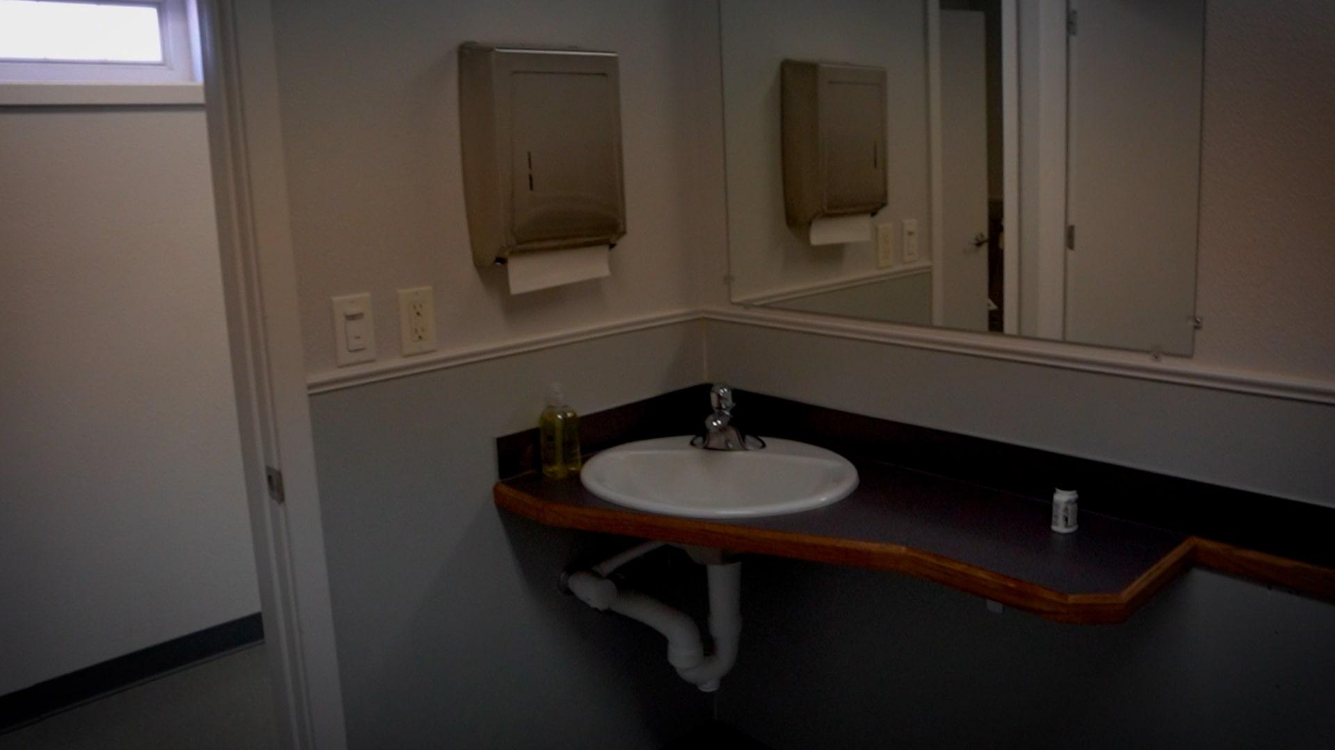Simple Sink in the Girl's Comfort Room