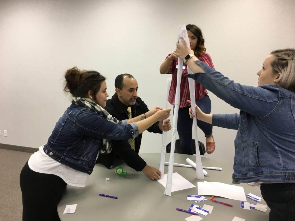 Team Building ib a Nampa, Idaho Event Center